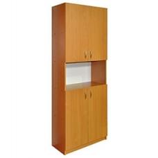 Шкаф для документов четырехдверный с нишей ШДО-6