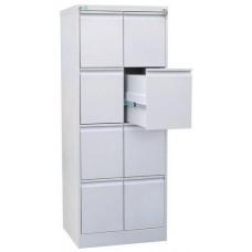 Металлический картотечный шкаф ШК-8(A4)