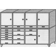 Шкаф инструментальный ШИ 2222/7431