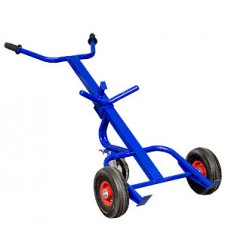 Двухколесная тележка КБ 1 (бочкакат) колеса литые