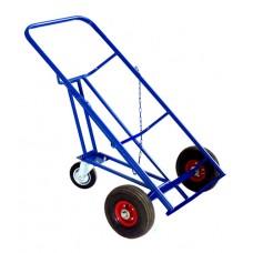 Двухколесная тележка КБ 2 (бочковоз) колеса литые
