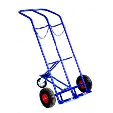 Двухколесная тележка ГБ 2 (Двух баллонник) колеса литые