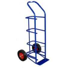 Двухколесная тележка ВД 4 (колеса D250 мм литые)