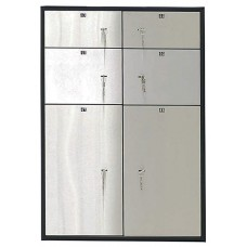 Металлический депозитный шкаф DB-6/3S