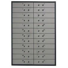 Металлический депозитный шкаф DB-24.DGL