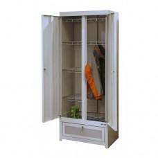 Металлический шкаф сушильный для одежды ШСО-22м-600