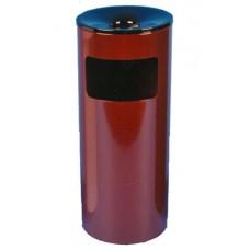 Урна (корзина для бумаги) 250Н бордовая