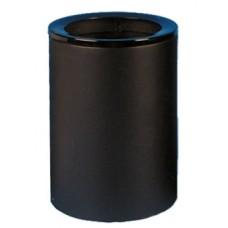 Урна (корзина для бумаги) 250 (низкая) черная