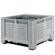 Перфорированный контейнер IBOX 1200х1000х760 мм на 4-х ножках