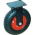 Колесные опоры, протекторная резина, для механических тележек