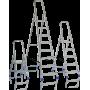 Алюминиевые стремянки и раздвижные лестницы