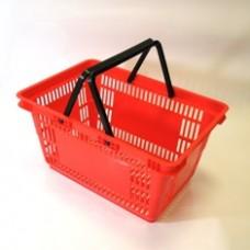 Корзина покупательская пластиковая 27 л. SBP27