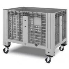 Контейнер iBox перфорированный 11.602.91.PE.C13 на 4-х поворотных колесах